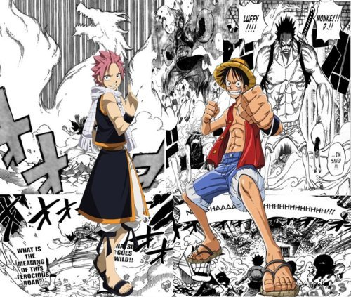 One Piece.Luffy and older Coby remind me of him.