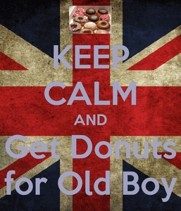 Donat for Old Boy.