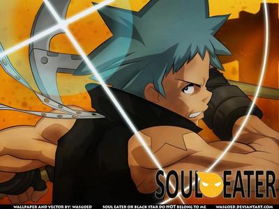 Black 星, つ星 from Soul Eater :)