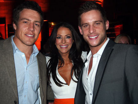 Daniel Ewing with Steve Peacocke and Esther Anderson:)
