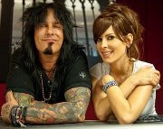 to become a werewolf and to become a super villain and to meet Nikki Sixx and Kerri Kasem