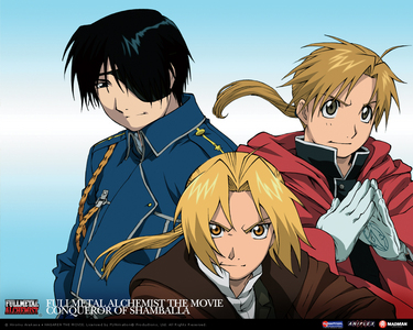 FMA, Soul Eater, and ヘタリア ^^ I just finished watching Conqueror of Shamballa. NEW お気に入り アニメ MOVIE! It's even better than Paint It, White!