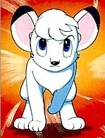 Kimba the White Lion. It's a montrer about a white lion cub forcing other animaux to become vegetarians. The montrer portrays the other carnivores as 'villains.' Kimba is rude, bossy, and selfish. The montrer just doesn't make sense to me at all.