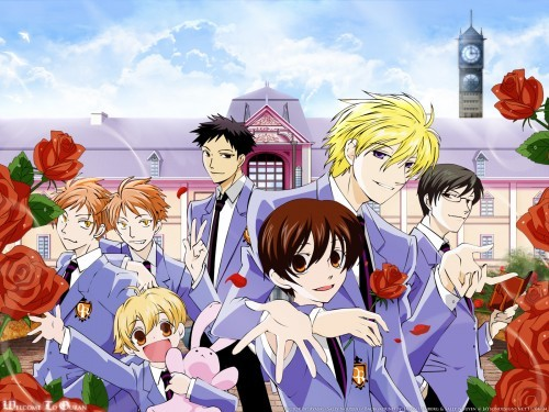 Well Katekyo Hitman Reborn! is quite long or my other answer is Ouran Highschool Host Club or Kaichou Wa Maid Sama!