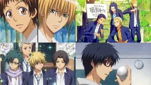Kaichou wa Maid sama! So many guys! X3