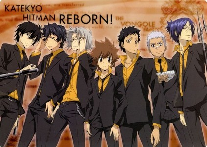 Katekyo Hitman Reborn! Uta no Prince Sama La Corda D'oro Primo Passo Hetalia Axis Powers Ouran Highschool Host Club