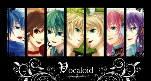 It's a Vocaloid party! X3 Hey, they aren't humans, so I guess they survived XP
