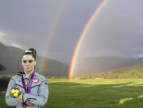 Mckayla disaproves.