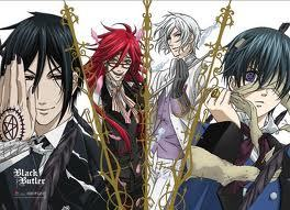 I'd have to say... Black Butler?