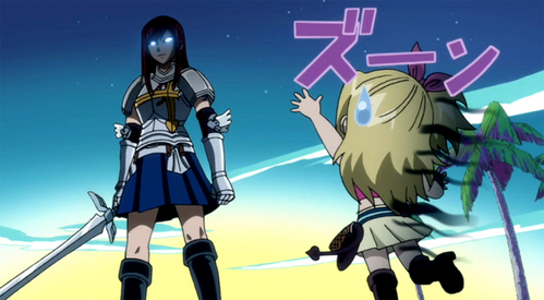 Erza's expression in this pic