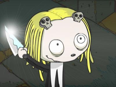Well I read a strip of it online so... ............... [b]MY GOD.[/b] IM LENORE!?!?!?!?!?! Hehe....me likey xD