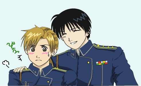 Alphonse and Roy. XD