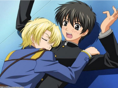 There's tons of blushing in Kyou Kara Maou. Yuuri is just so easily embarrassed.