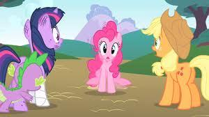 feeling pinkie keen why? because of pinkie pie's randomness