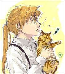 I'm a nerd, and I've always been interested in alchemy. An anime with alchemy in the title? Couldn't pass it up. I watched the first episode of the 2003 anime and I was HOOKED. So here I am now... Obsessed with Alphonse and cats...