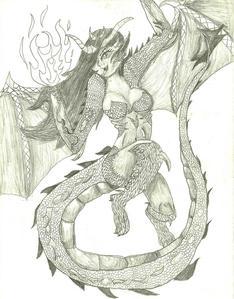 ok, try 'n' match this. :P i drew it myself and i've got plenty madami