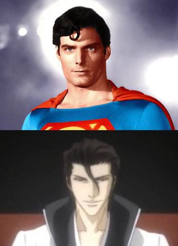 슈퍼맨 and aizen? xP