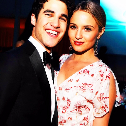 Darren and Dianna are my お気に入り glee/グリー stars <3