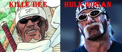 Killer B from 나루토 and Hulk Hogan