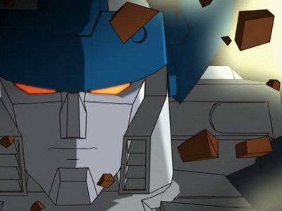 Megatron in the トランスフォーマー Unicron Trilogy (specifically Energon and Cybertron) constantly has this angry expression on his face (which kinda fits him when あなた think about it), mostly due to the... questionable CGI quality not allowing もっと見る than one facial expression on the トランスフォーマー themselves.