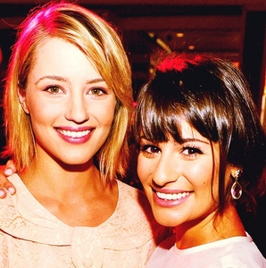 LEA AND DIANNA!!! Achele forever <3