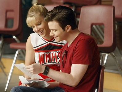 these are my two お気に入り glee/グリー Stars :) Brittany and Kurt ( Heather and Chris)