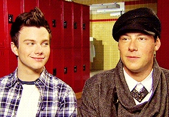 Cory Monteith and Chris Colfer are my two favourite people in the world! :))