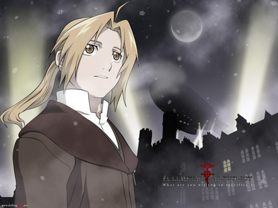 He has hair and eyes that are golden like the sun! State Alchemist, Edward Elric!
