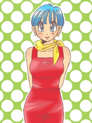 Bulma Briefs, from Dragon Ball Z!