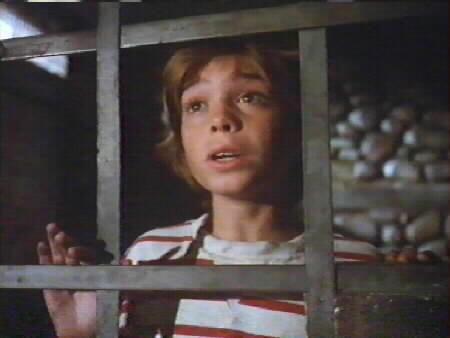 Matthew in a jail-like room in a TV movie, Tales from the Darkside as a 10 taon old boy, named Timmy, where somebody was going to cook him for hapunan and telling him stories the same time but Timmy got away and everything came to a happy ending.