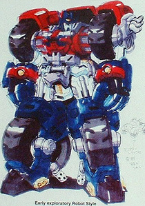 Fun fact: Optimus Prime was originally going to be a goddamned monster truck in Transformers Armada.