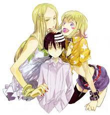 Kid, Liz, and Patty from Soul Eater :)