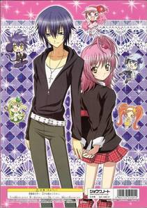 ikuto and amu from shugo chara