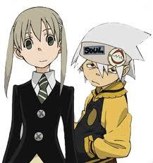 Maka and Soul from Soul Eater(: