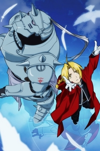 Edwrad and Alphonse Elric