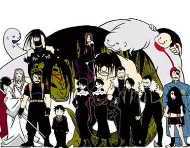 All the Homunculi from FMA/FMA Brotherhood!