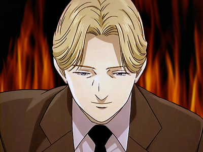 Johan Liebert from Monster. My 가장 좋아하는 villain. <3