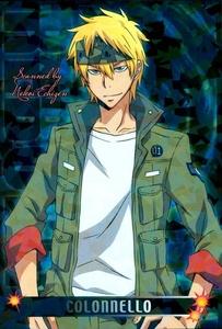 Colonnello from Katekyo Hitman Reborn!