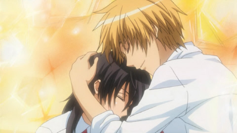 misaki and usui.. in the anime they aren't a couple..