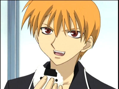 Do just first names count? Cause if so then Kyo from Fruits Basket.