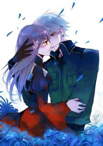 Prussia and Hungary from Hetalia X3