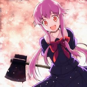 Yuno from Mirai Nikki