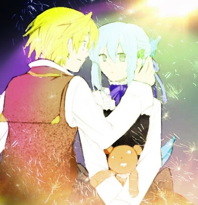 Echo from Pandora Hearts (the one with the light blue hair)