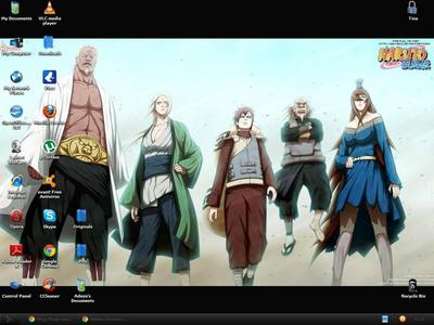 Here's mine...The 5 Kages :)