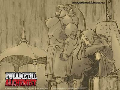 Fullmetal Alchemist and Fullmetal Alchemist Brotherhood.