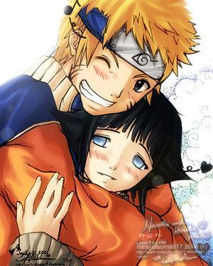 나루토 and Hinata :) I hope this still counts ^^