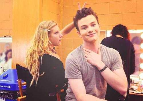 CHRIS COLFER <3 Bless him >.<