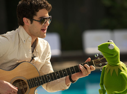 Darren Criss and Kermit the Frog. Does that count?