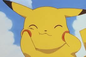 My favorite pokemon is *drum roll* Pikachu (if i spelled that wrong please tell me on my wall or comment. Thnx! :3) I like it because, first of all, I absolutley LOVE eletric-type pokemon, AND it's so CUTE! Well I actually can't neccasarily pick ONE but if I had to I would choose Pikachu!