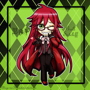 Well Grell from black butler even though we know he's a guy he wants to be girl....